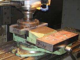 обработка гильотинных ножей