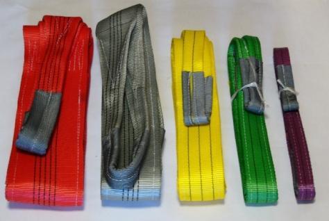 текстильные стропы нескольких типов